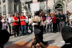 Tango on La Rambla