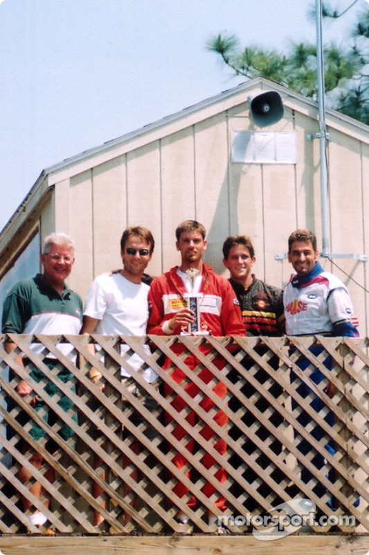 2nd place finishers, the Team EasyStreet was Glenn Howle, John Dean, Phil  Van Tubbergh, Mark Gray, and Wayde Alfarone