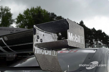 Rear wing of the AMG Mercedes-Benz CLK-DTM
