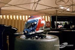 Marcel Fassler's helmet
