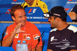 Wednesday press conference: Rubens Barrichello and Juan Pablo Montoya