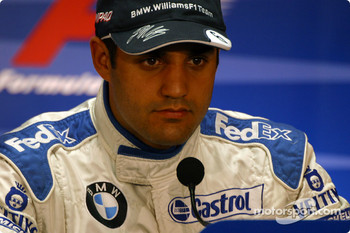 FIA Saturday press conference: pole winner Juan Pablo Montoya