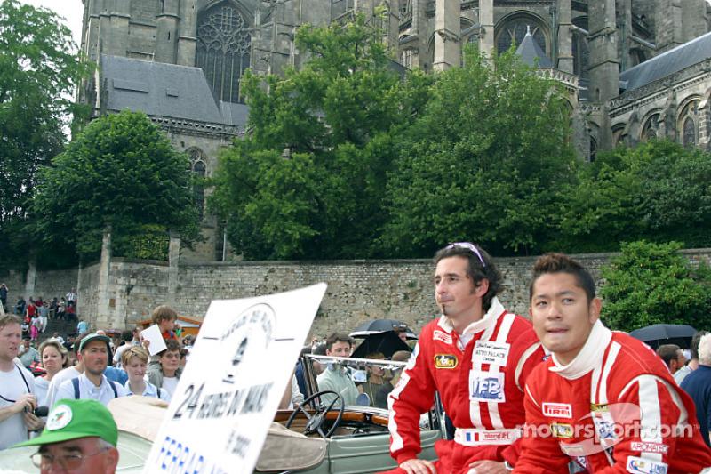 Guillaume Gomez and Ruo Fukuda