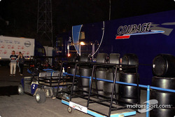 Courage Competition paddock area