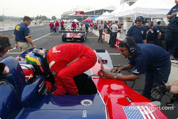 Panoz pit area