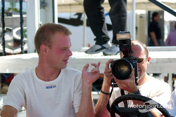 Next race, Jan Magnussen and David Brabham will be shooting pictures while Motorsport.com photographers will be in the Panoz