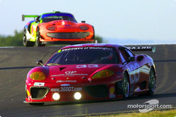 Bill Auberlen broke the GT track record en route to the class pole in the #33 Ferrari 360GT during qualifying