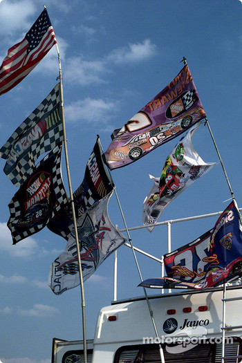Fan flags