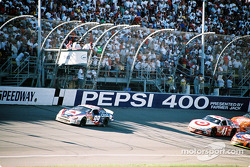 Race restart: Jeff Burton
