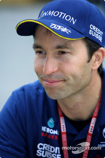 Press conference: Heinz-Harald Frentzen