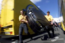 Opel crew members