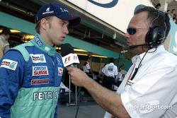 Interview for Nick Heidfeld