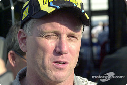 Ricky Rudd after the race