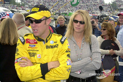 They even cross their arms the same, right over left: Matt and Katie Kenseth