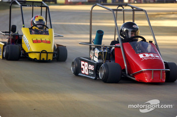 Briggs Senior Champ-#58-Jason Brown leads #99-Matt Layton