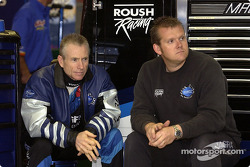 Mark Martin and crew chief Ben Leslie