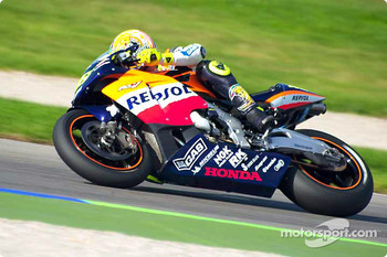 World Champion Valentino Rossi