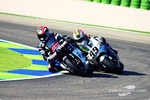 Loris Capirossi leads Jeremy McWilliams