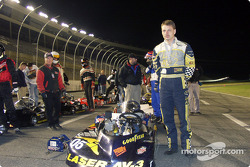 #05-Kerry Parnell waits on the Briggs & Stratton 300 grid during driver introductions