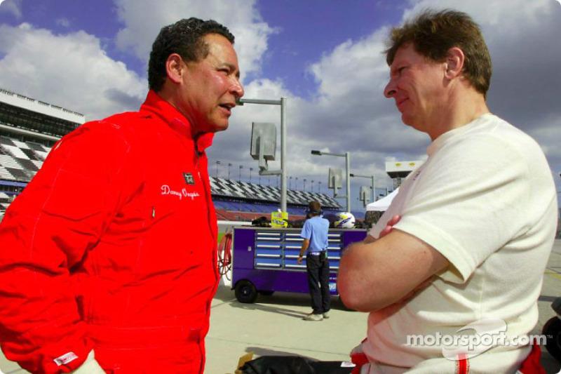 Danny Ongais And Didier Theys At Daytona Iii