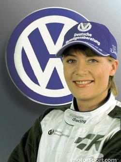 Volkswagen Tarek presentation: Jutta Kleinschmidt