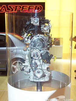 Mazda Rotary Engine cut-away