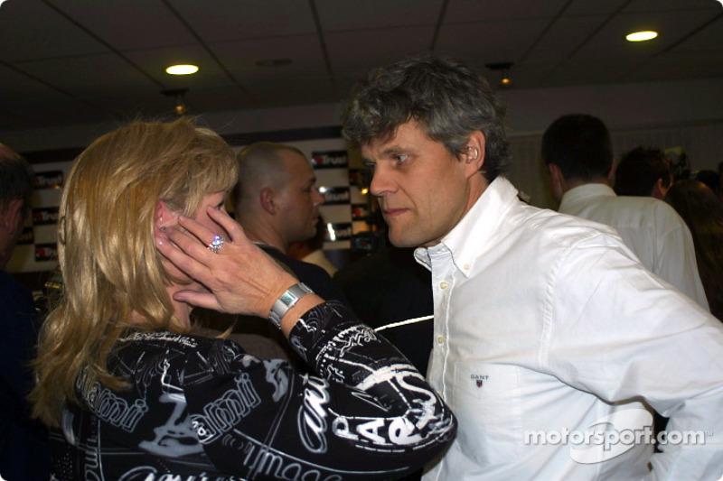 Jos Verstappen's manager Huub Rothengatter