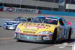 John Andretti and Jimmie Johnson