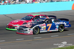 Jason Leffler and Jeremy Mayfield