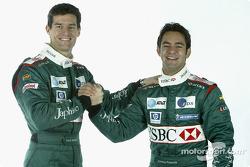 Mark Webber and Antonio Pizzonia