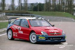 Citroën Sport présentation: the Citroën Xsara WRC