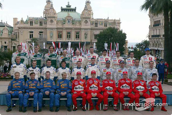 The World Rally Championship class of 2003