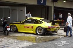 Xandy Negrão, Ingo Hoffmann, Ricardo Etchenique and Fernando Nabuco; Porsche GT3RS