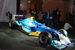 The new Sauber Petronas C22