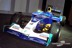 The new Sauber Petronas C22