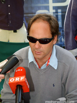 Gerhard Berger announces his future with BMW