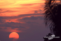 Beautiful sunset on Sebring