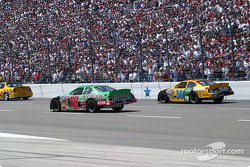 Pace laps: Bobby Labonte and Elliott Sadler