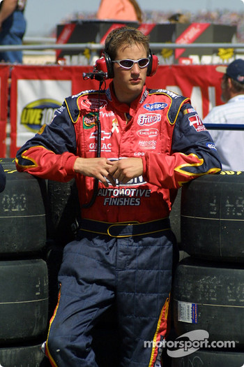 Hendrick Motorsports crew member