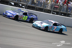 Jimmie Johnson and Jimmy Spencer