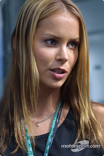 Jenny, Kimi Raikkonen's lovely girlfriend