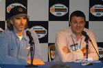 Press conference: Damon Hill and Mark Blundell