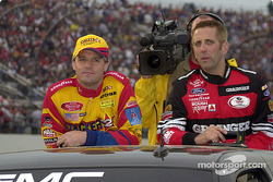 Kenny Wallace and Greg Biffle