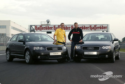 S line time: Audi Juniors Peter Terting and Martin Tomczyk took journalists for a ride on the Adria International Raceway with the new Audi A3