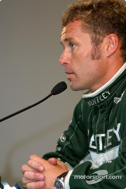 Press conference: pole winner Tom Kristensen
