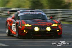 #68 Scorp Motorsport Chrysler Viper GTSR: Luis Marques, René Metge, Christian Lavieille