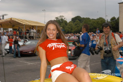 A lovely Hawaiian Tropic girl