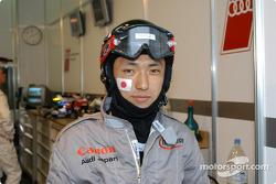 Audi Sport Japan Team Goh pit area