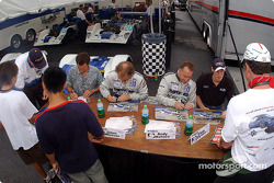 Autograph session: Butch Leitzinger, James Weaver, Andy Wallace and Chris Dyson