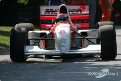Johnny Herbert in McLaren Ford MP4-8
